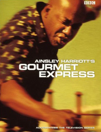 Front cover of Ainsley Harriott's Gourmet Express