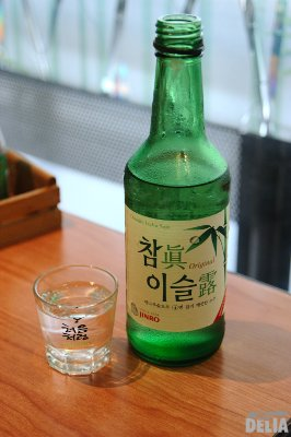 Jinro's Chamjin Isulro soju - the biggest-selling brand in Korea