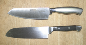 Japanese chef knives by Twin Fish and Cooks & Co