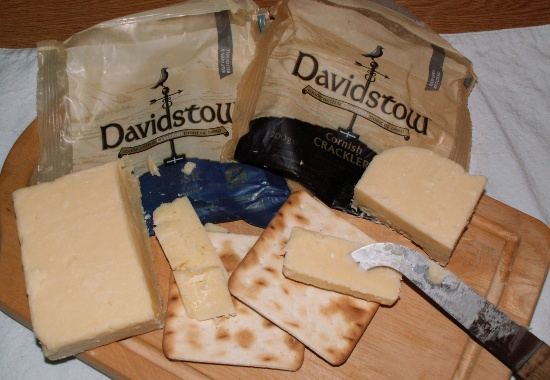 Davidstow's Cornish Classic and Cornish Crackler cheddar cheeses