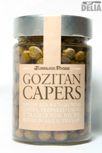 A jar of Gozitan capers