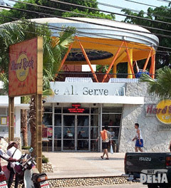 Hard Rock Café on Pattaya's Beach Road
