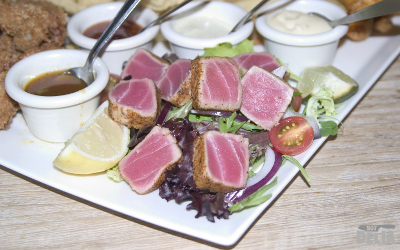 Cajun seared tuna