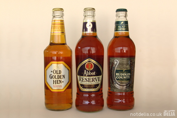 Three ales from Greene King