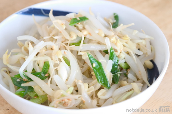 Bean sprout namole