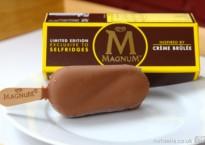 Magnum - inspired by crème brûlée