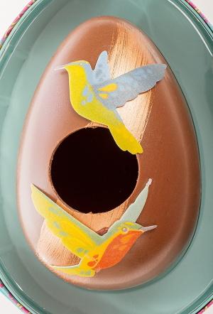 Artisan du Chocolat's dulce de leche hummingbird egg