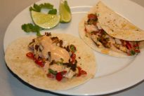 Gousto box blackened haddock tacos